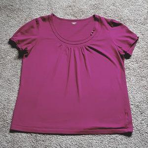 5/$25 St.John's Bay Pink Shirt Size L